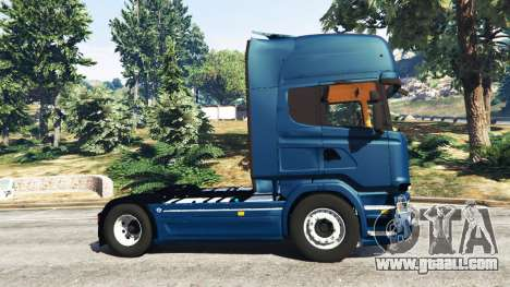 GTA 5 Scania R730 left side view