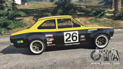GTA 5 Ford Escort MK1 v1.1 [26] left side view