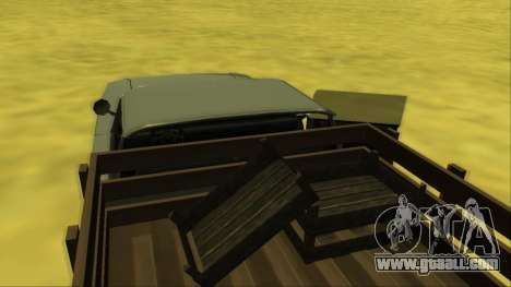 Voodoo El Camino v2 (Truck) for GTA San Andreas interior