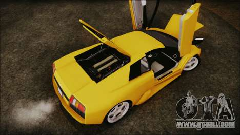 Lamborghini Murcielago 2005 Yuno Gasai IVF for GTA San Andreas inner view