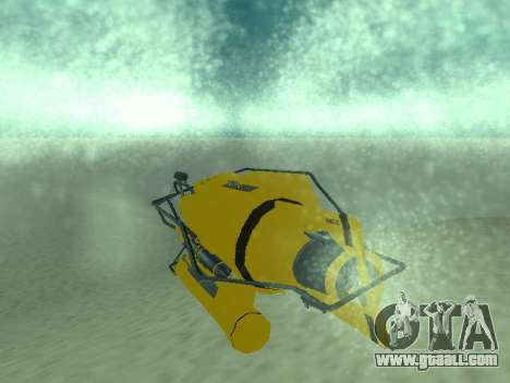 Submersible from GTA V for GTA San Andreas back view