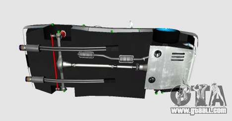 Elegy DRIFT KING GT-1 (Stok wheels) for GTA San Andreas right view