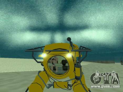 Submersible from GTA V for GTA San Andreas bottom view