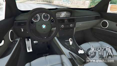 GTA 5 BMW M3 (E92) [LibertyWalk] v1.1 rear right side view