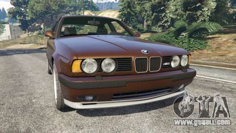 BMW M5 (E34) 1991 v2.0 for GTA 5