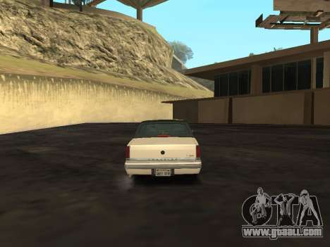 Chrysler New Yorker 1988 for GTA San Andreas right view