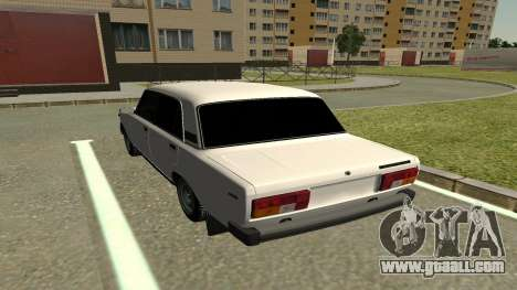 VAZ 2105 for GTA San Andreas back view