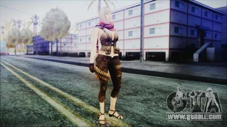 Mila from Counter Strike for GTA San Andreas second screenshot