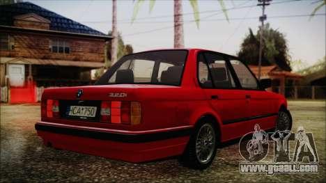 BMW M3 E30 Sedan for GTA San Andreas left view