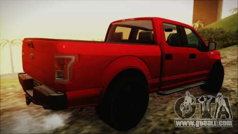 Ford F-150 2015 Sport for GTA San Andreas left view
