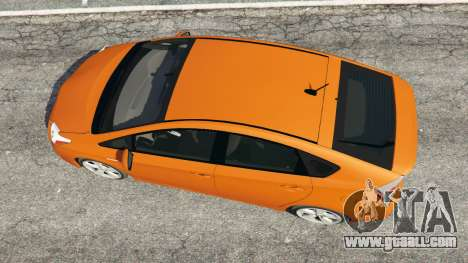 GTA 5 Toyota Prius v1.5 back view