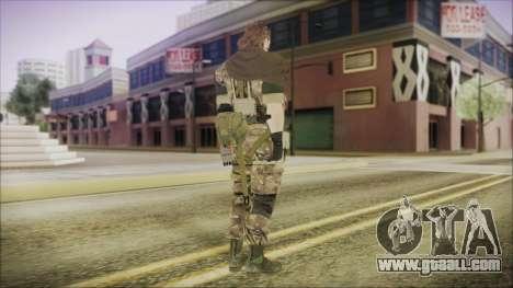 MGSV Phantom Pain Snake Scarf Wetwork for GTA San Andreas third screenshot