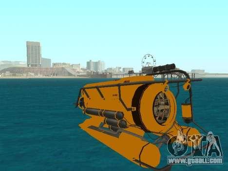 Submersible from GTA V for GTA San Andreas