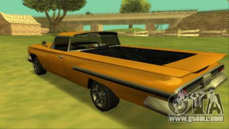Voodoo El Camino v1 for GTA San Andreas engine
