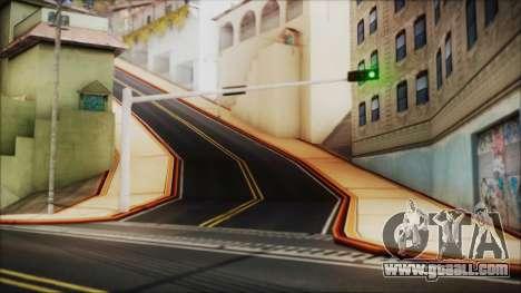 HD All City Roads for GTA San Andreas third screenshot