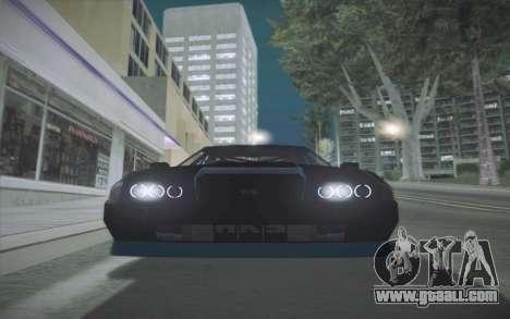 Elegy DRIFT KING GT-1 (Stok wheels) for GTA San Andreas back left view