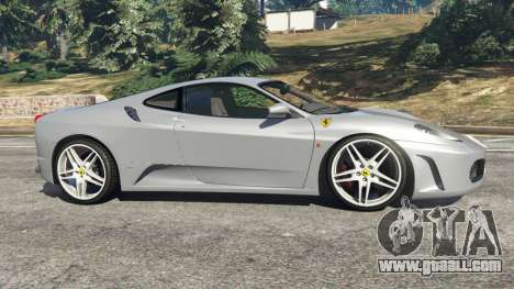 GTA 5 Ferrari F430 2004 left side view