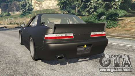 GTA 5 Nissan Silvia S13 v1.2 [without livery] rear left side view