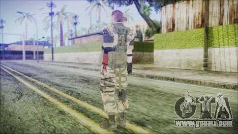 MGSV Phantom Pain Snake Normal Tiger for GTA San Andreas third screenshot