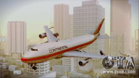 Boeing 747-200 Continental Airlines Red Meatball for GTA San Andreas