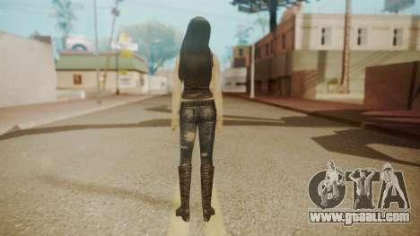 Tifa Black for GTA San Andreas third screenshot