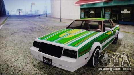 GTA 5 Willard Faction Custom for GTA San Andreas inner view