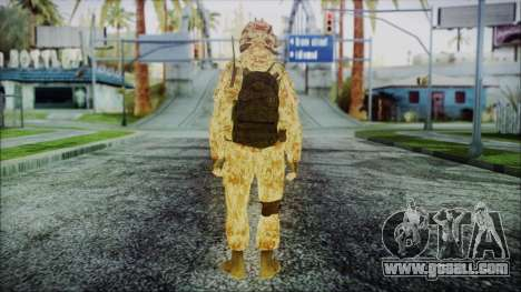 MW2 Russian Airborne Troop Desert Camo v3 for GTA San Andreas third screenshot