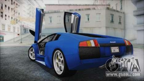 Lamborghini Murcielago 2005 Yuno Gasai HQLM for GTA San Andreas left view