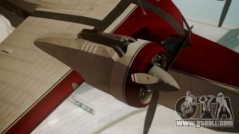 Grumman G-21 Goose VHIRM for GTA San Andreas right view