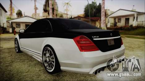 Carlsson Aigner CK65 RS v2 Headlights for GTA San Andreas left view