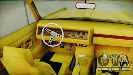 GTA 5 Vapid Chino Bobble Version for GTA San Andreas right view