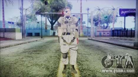 MGSV Phantom Pain Snake Normal Desert for GTA San Andreas second screenshot