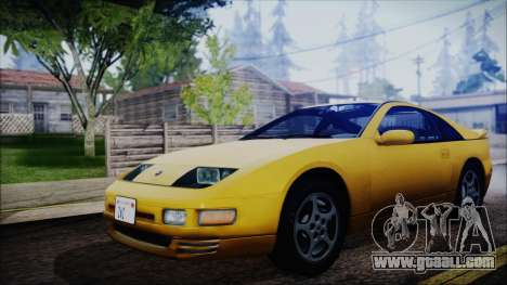 Nissan Fairlady Z Twinturbo 1993 for GTA San Andreas back left view