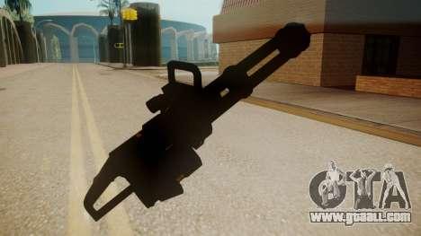 GTA 5 Minigun for GTA San Andreas third screenshot