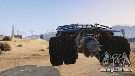 GTA 5 The Tumbler right side view