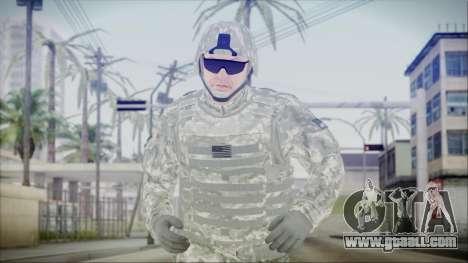 CODE5 USA for GTA San Andreas