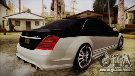 Carlsson Aigner CK65 RS v2 Headlights for GTA San Andreas back left view