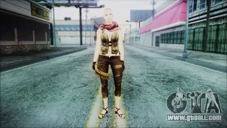 Mila Short Hair from Counter Strike for GTA San Andreas second screenshot