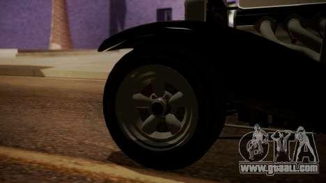 GTA 5 Albany Franken Stange IVF for GTA San Andreas back left view