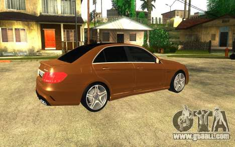 Mercedes Benz E63 AMG for GTA San Andreas right view