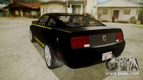 Ford Mustang Shelby Terlingua for GTA San Andreas left view