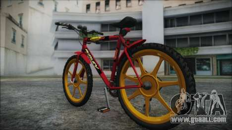 Mtbike HD for GTA San Andreas left view