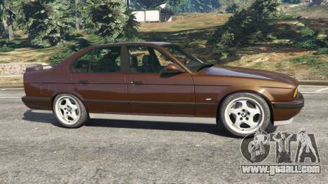 GTA 5 BMW M5 (E34) 1991 v2.0 left side view