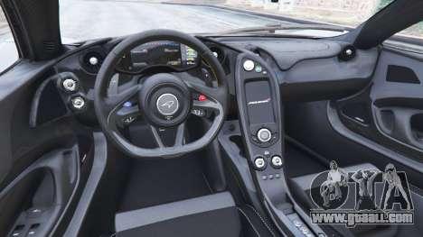 McLaren P1 2014 v1.5 for GTA 5