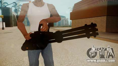 GTA 5 Minigun for GTA San Andreas