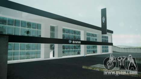 BMW Showroom for GTA San Andreas