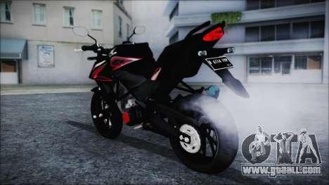Honda CB150R Black for GTA San Andreas left view