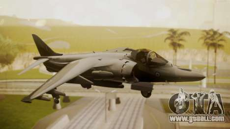 AV-8B Harrier Hellenic Air Force HAF for GTA San Andreas