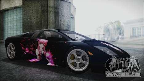 Lamborghini Murcielago 2005 Yuno Gasai IVF for GTA San Andreas wheels