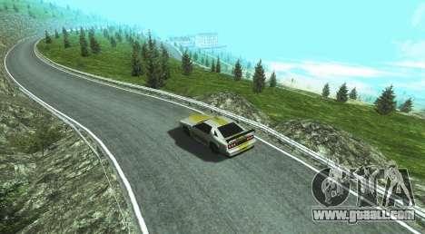Stelvio Pass Drift Track for GTA San Andreas second screenshot